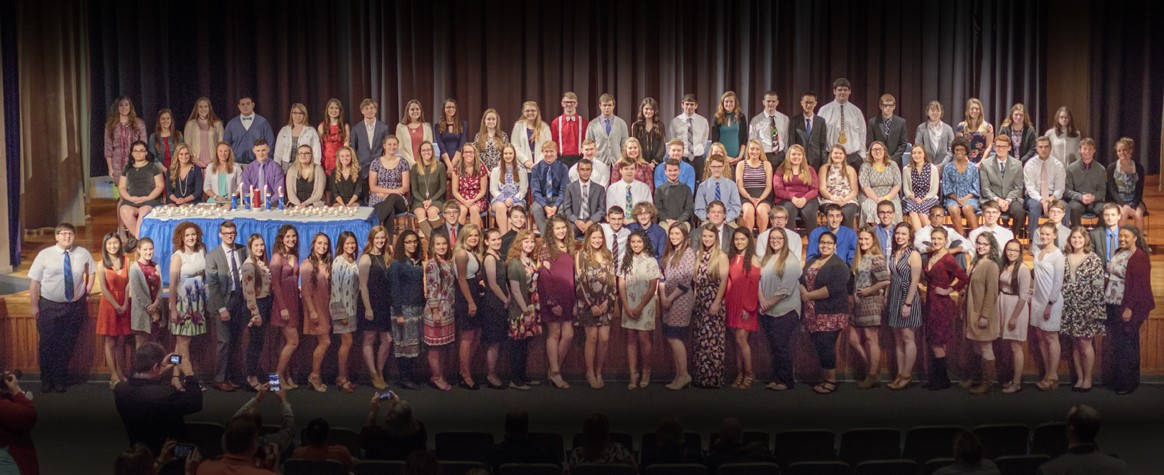 <b>CHS National Honor Society 2017: Congratulations to the new members!<b>