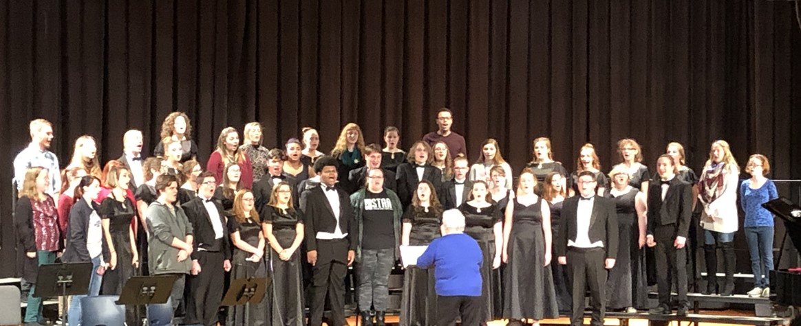 Alumni at Christmas Concert 2018